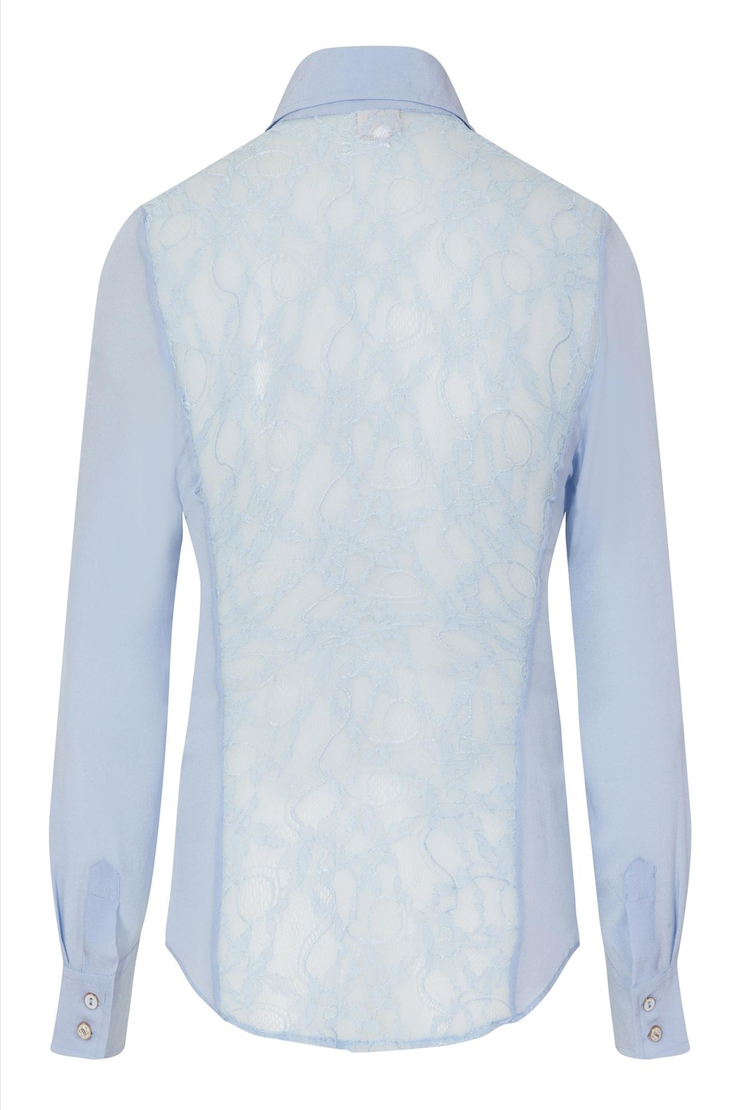 Sophie Cameron Davies Fitted Silk Shirt - Side Cropped Image