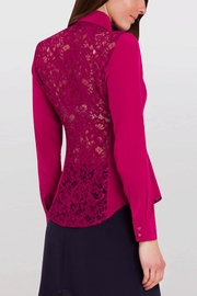 Sophie Cameron Davies Fitted Silk Shirt - Front full body