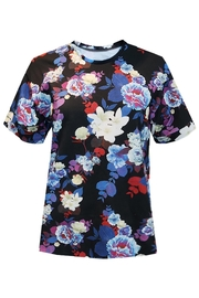 Sophie Cameron Davies Floral Cotton T-Shirt - Front full body