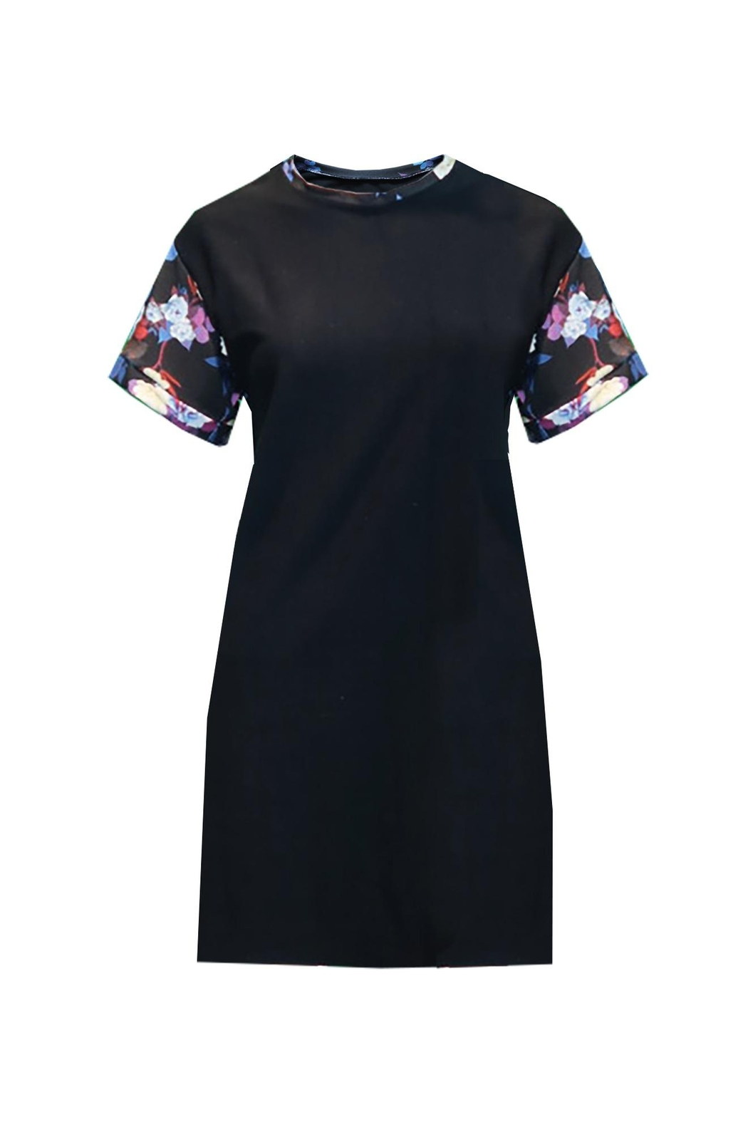 Sophie Cameron Davies Floral T-Shirt Dress - Front Full Image