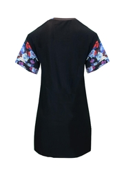Sophie Cameron Davies Floral T-Shirt Dress - Back cropped