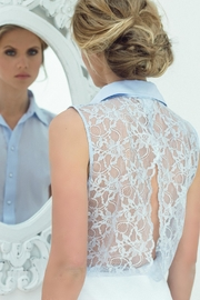 Sophie Cameron Davies Lace Back Top - Product Mini Image