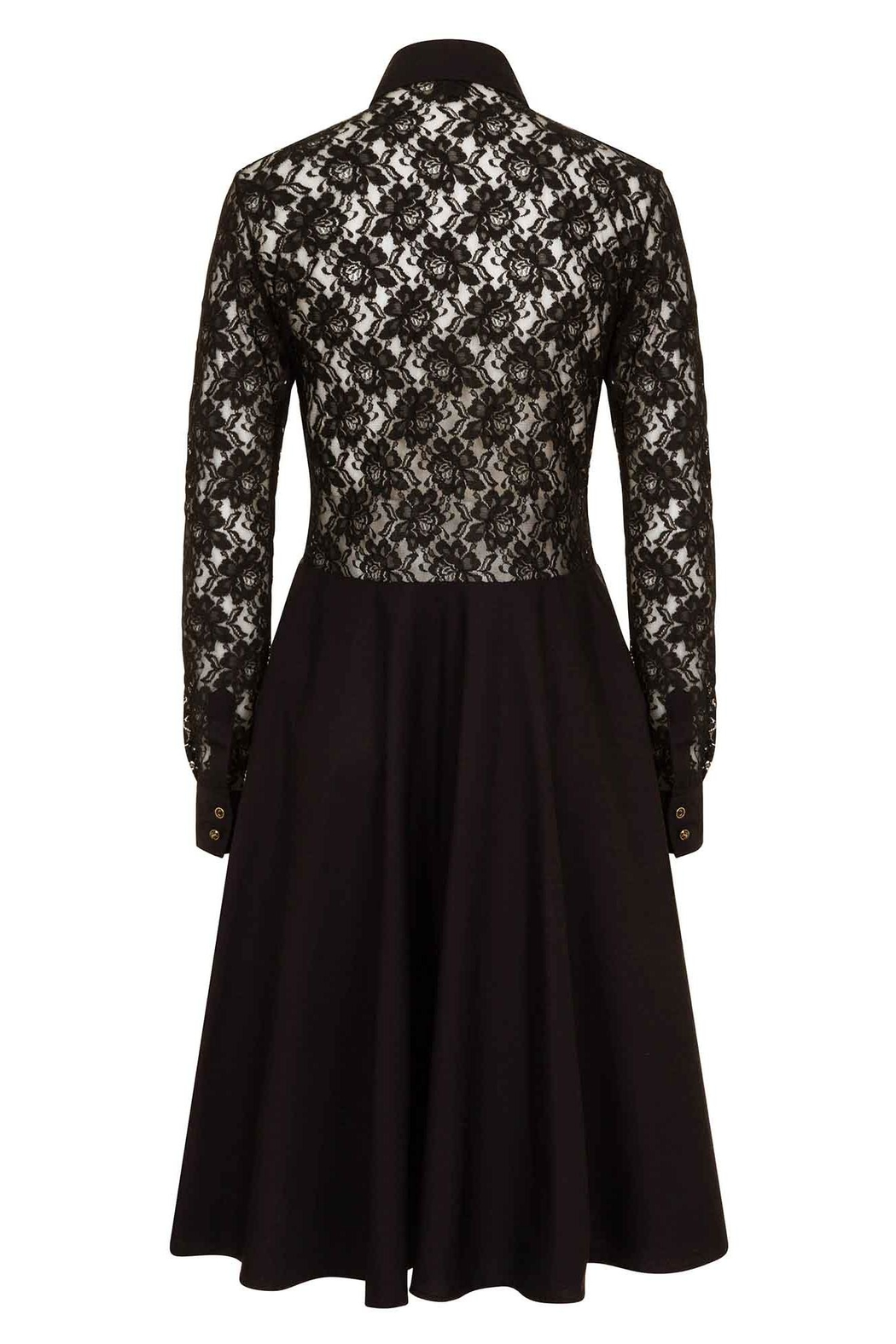 Sophie Cameron Davies Lace Midi Dress - Side Cropped Image