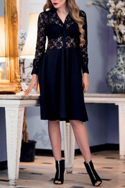 Sophie Cameron Davies Lace Midi Dress - Product Mini Image