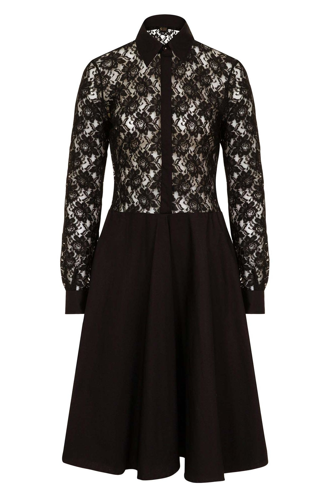 Sophie Cameron Davies Lace Midi Dress - Front Full Image