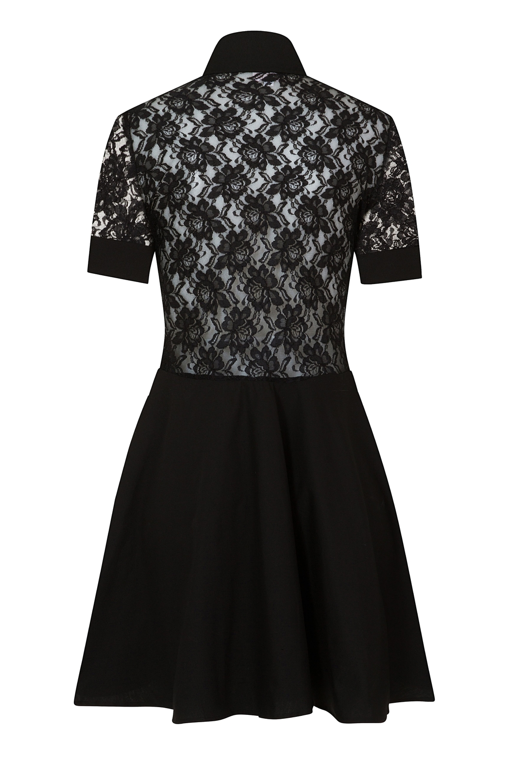 Sophie Cameron Davies Lace Mini Dress - Side Cropped Image
