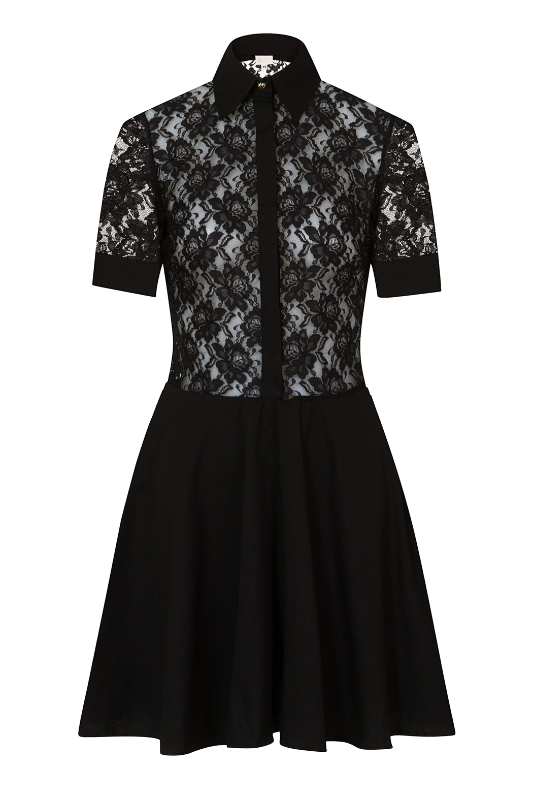 Sophie Cameron Davies Lace Mini Dress - Front Full Image
