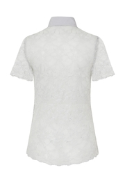 Sophie Cameron Davies Lace Shirt - Back cropped