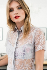 Sophie Cameron Davies Lace Shirt - Front full body
