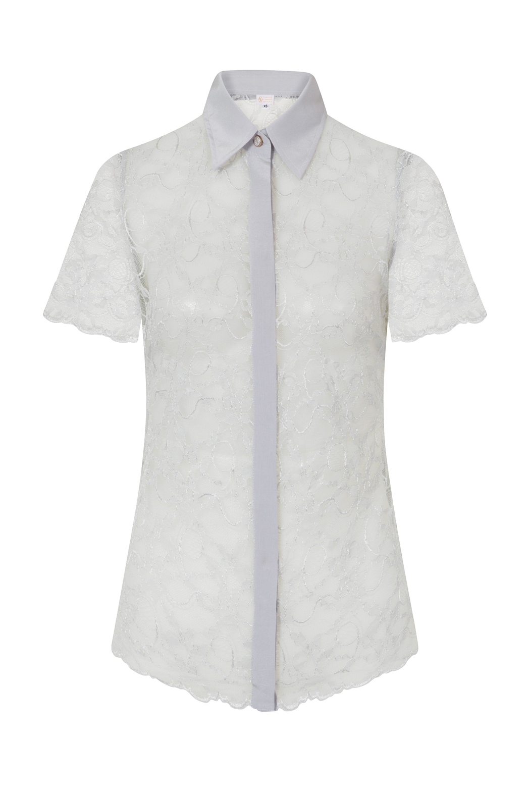 Sophie Cameron Davies Lace Shirt - Side Cropped Image