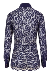 Sophie Cameron Davies Lace Shirt - Side cropped