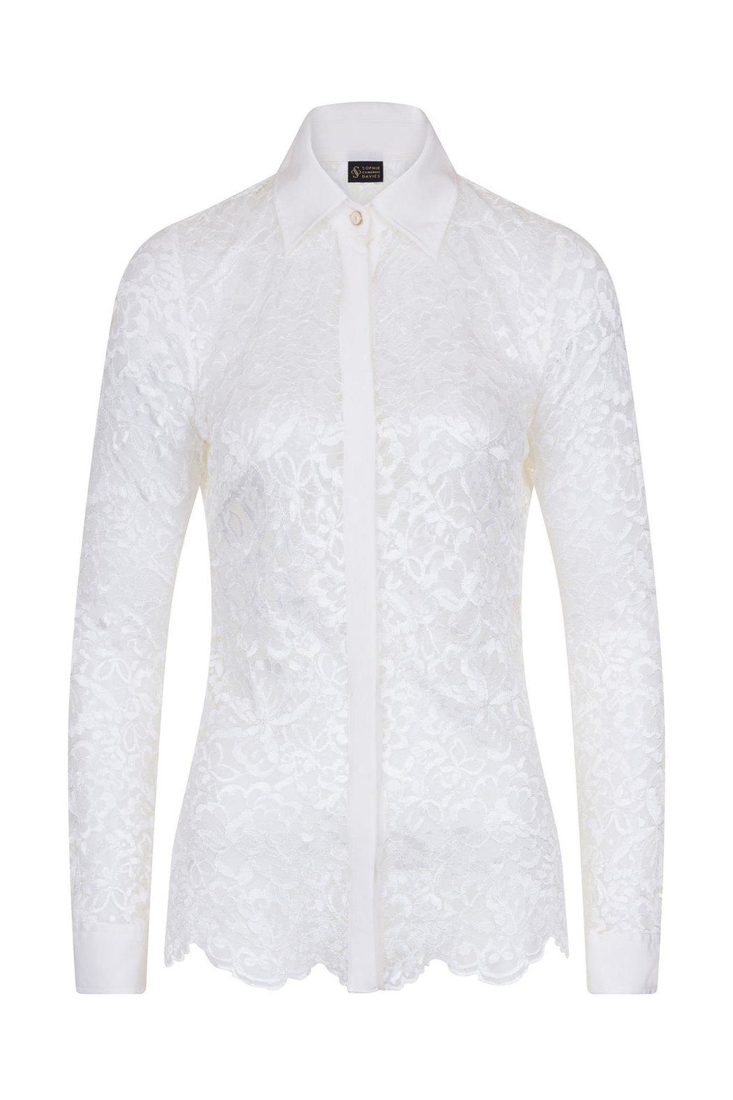 Sophie Cameron Davies Lace Shirt - Front Full Image