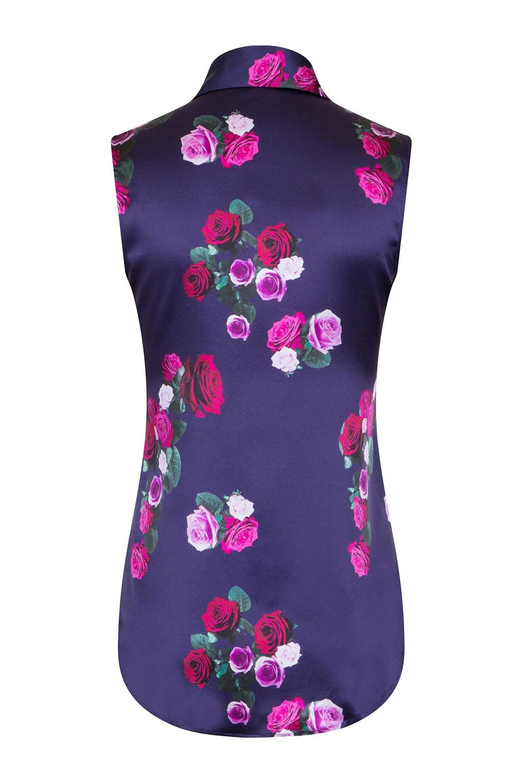 Sophie Cameron Davies Rose Silk Top - Side Cropped Image