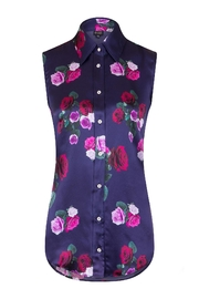 Sophie Cameron Davies Rose Silk Top - Front full body