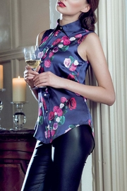 Sophie Cameron Davies Rose Silk Top - Front cropped