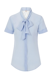 Sophie Cameron Davies Silk Bow Blouse - Front full body
