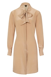 Sophie Cameron Davies Silk Bow Dress - Front full body