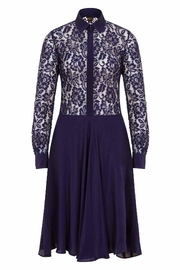 Sophie Cameron Davies Silk Lace Dress - Product Mini Image