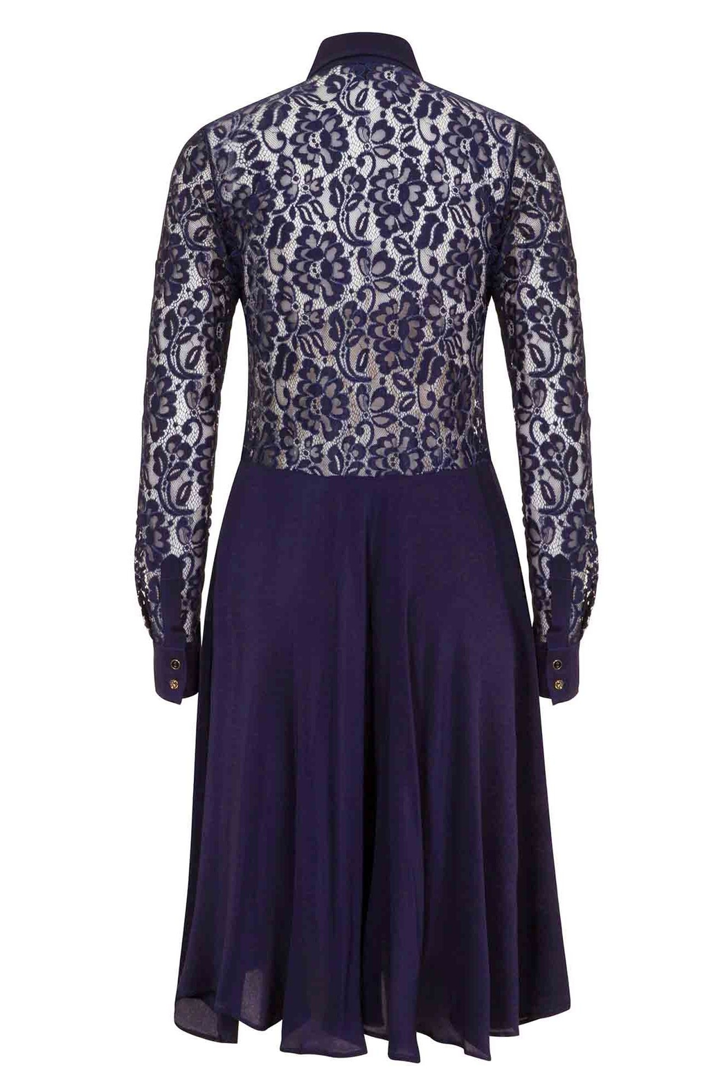 Sophie Cameron Davies Silk Lace Dress - Front Full Image