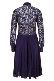 Sophie Cameron Davies Silk Lace Dress - Front full body