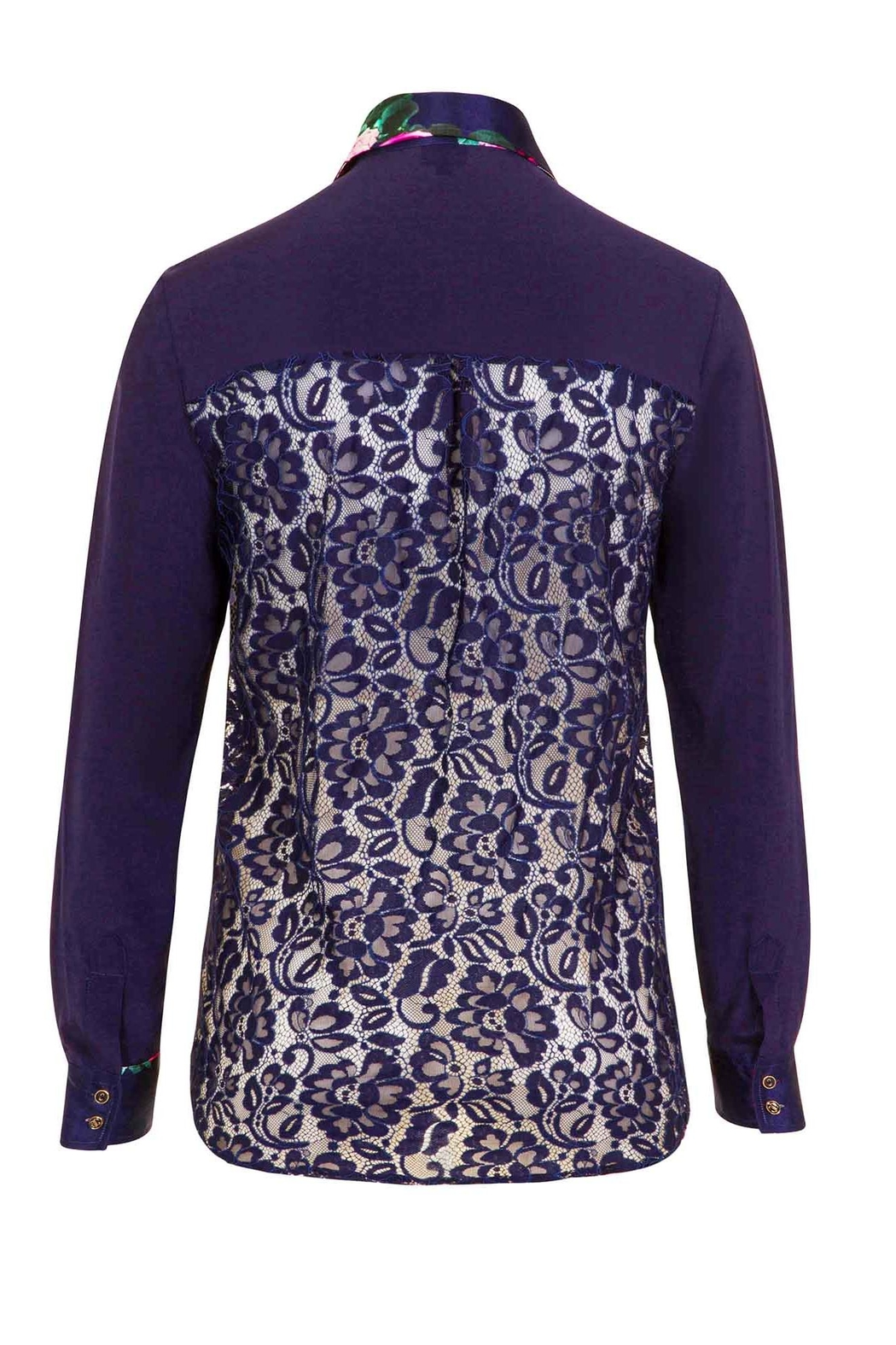 Sophie Cameron Davies Silk Shirt - Side Cropped Image