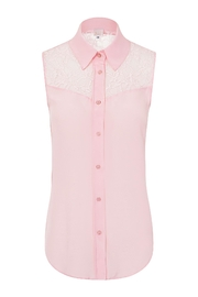 Sophie Cameron Davies Silk Top - Front full body