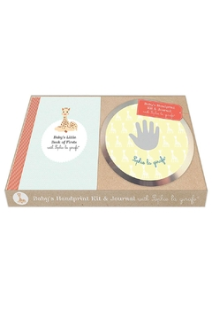 Sophie la Girafe Baby's Handprint Kit With Sophie La Giraffe Book - Product List Image