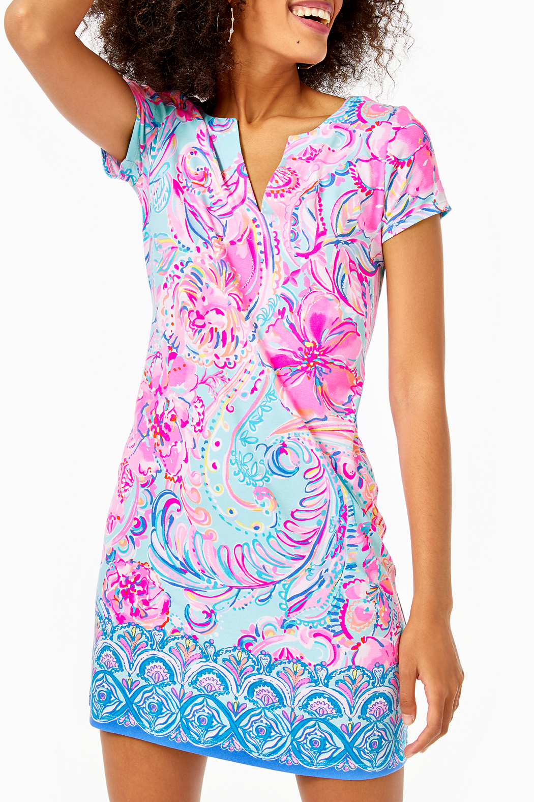 Lilly Pulitzer Sophiletta Dress  UPF 50+ - Front Cropped Image