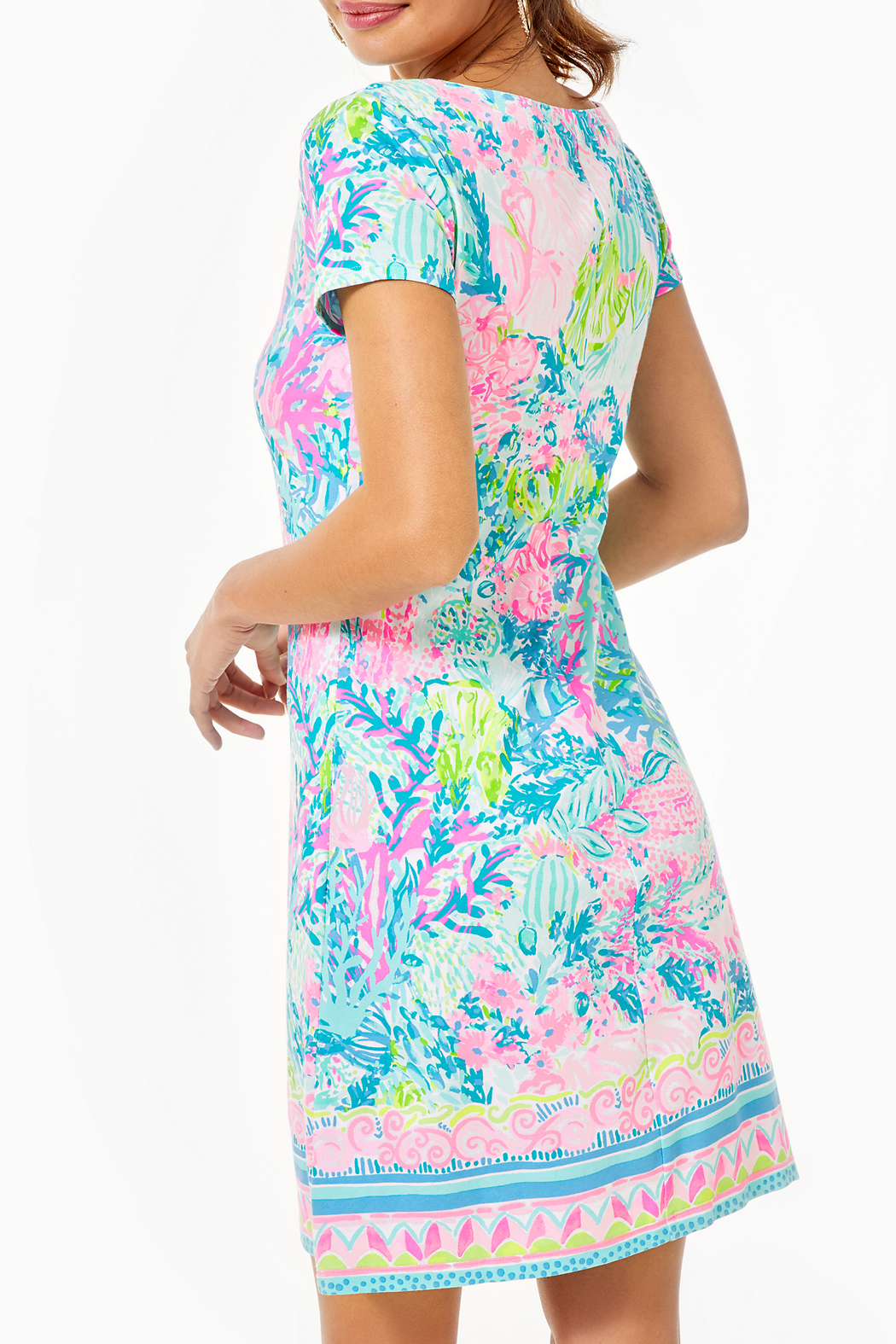 Lilly Pulitzer Sophiletta Dress  UPF 50+ - Side Cropped Image