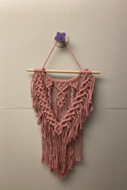 Creative Cords Sophisticated Mauve Macrame - Front cropped