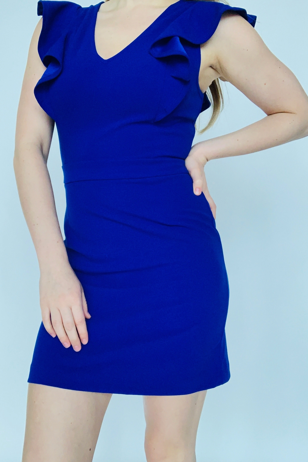 entro  Sophisticated Sass Dress - Front Full Image
