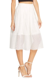 Soprano A-Line White Skirt - Side cropped