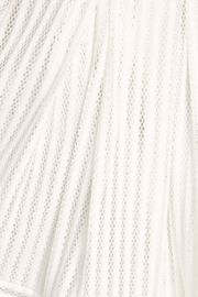 Soprano A-Line White Skirt - Back cropped
