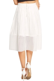 Soprano A-Line White Skirt - Other