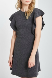 Soprano Flare Ruffle Dress - Product Mini Image