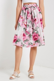 Soprano Floral Midi Skirt - Product Mini Image