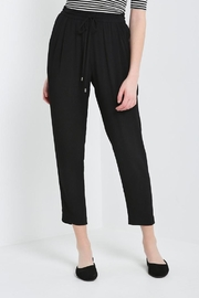 Soprano Gauzy Black Pant - Front cropped