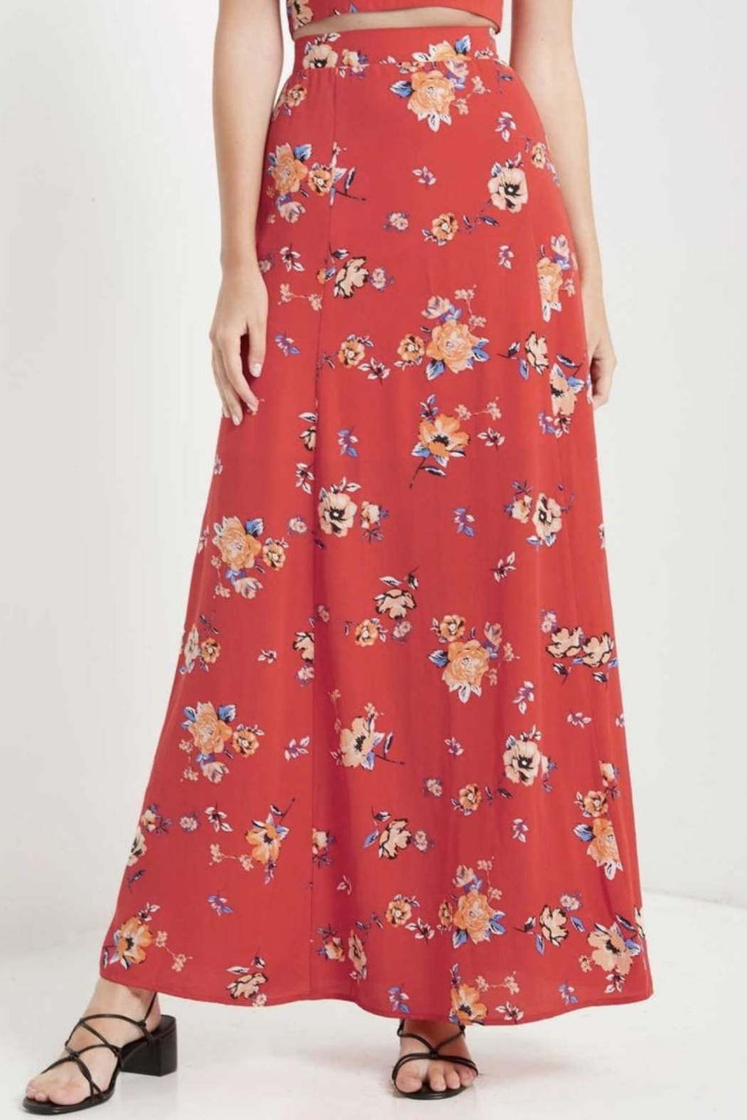 Soprano High-Waisted Maxi Skirt - Main Image