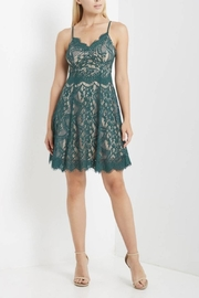 Soprano Lace Over-Lay Dress - Product Mini Image
