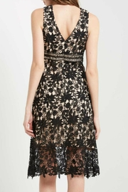 Soprano Lace Overlay Dress - Front full body