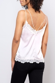 Soprano Lace Trim Satin Cami - Side cropped