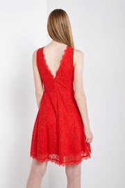 Soprano Lady In Red-Lace - Back cropped