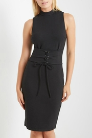 Soprano Midi Belted Dress - Product Mini Image