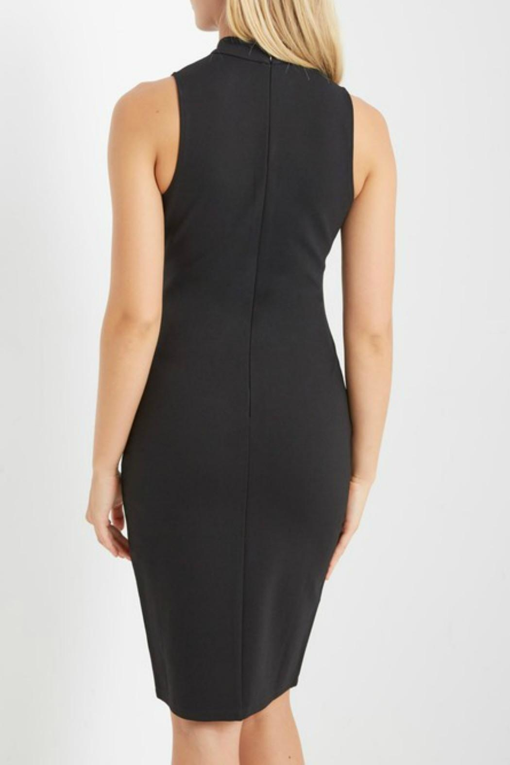 Soprano Midi Belted Dress - Side Cropped Image