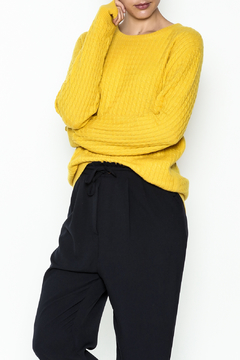 Shoptiques Product: Cable Knit Cashmere Sweater