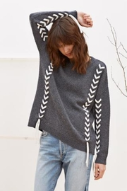 Charli Soraya Woven Sweater - Product Mini Image