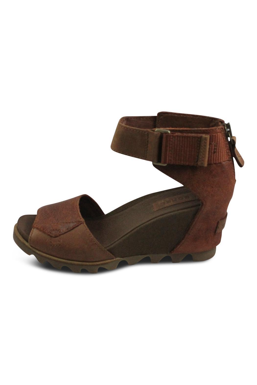 Sorel Brown Wedge Strap - Main Image