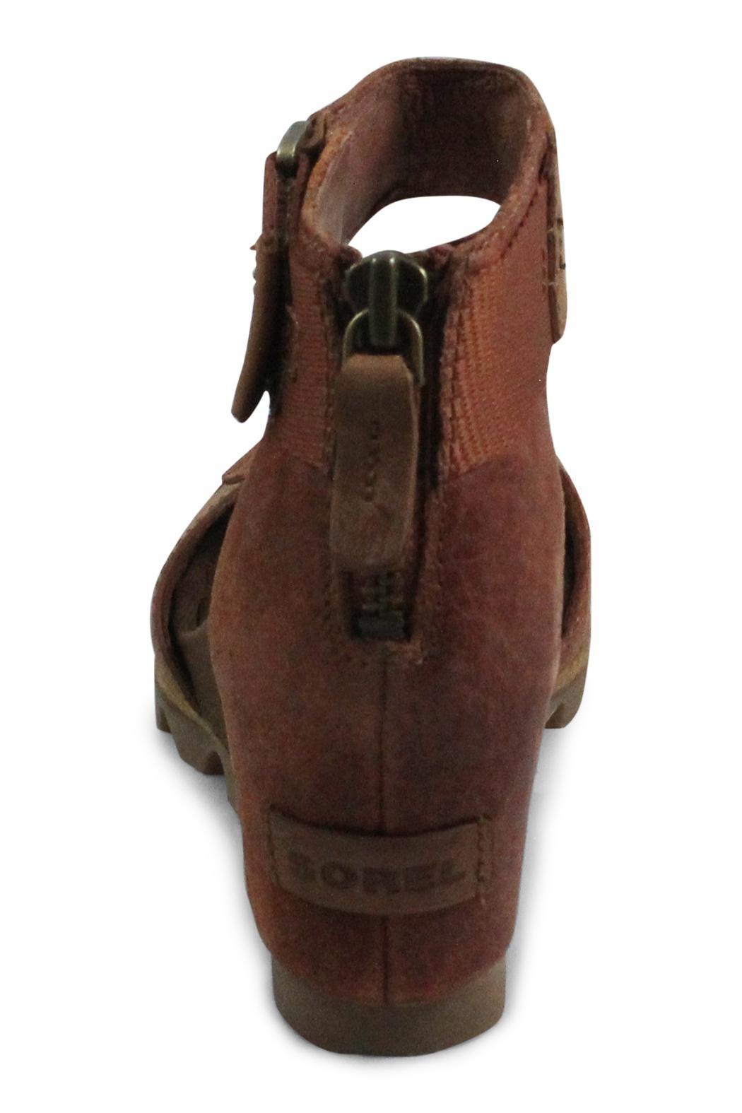 Sorel Brown Wedge Strap - Side Cropped Image