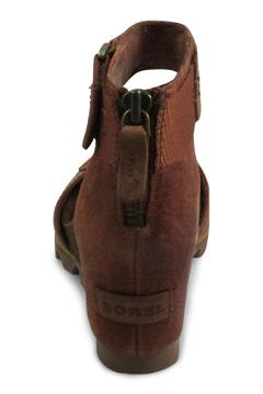 Shoptiques Product: Brown Wedge Strap