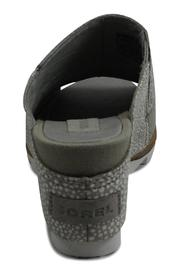 Sorel Grey Wedge Sandal - Side cropped